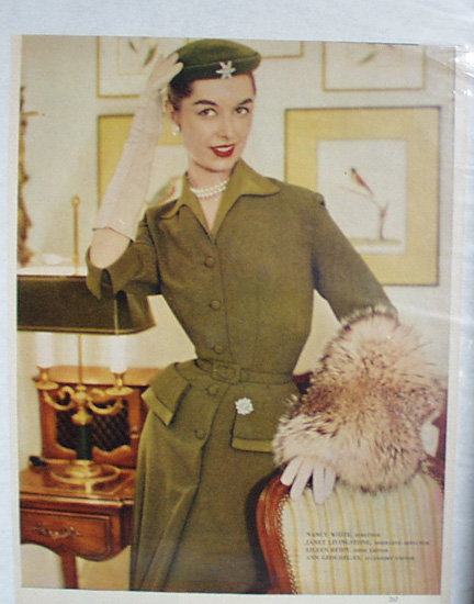 Good House Keeping Book Of Fashions 1952 Ad