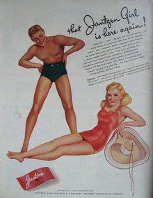 Jantzen Swim Wear 1941 Ad.