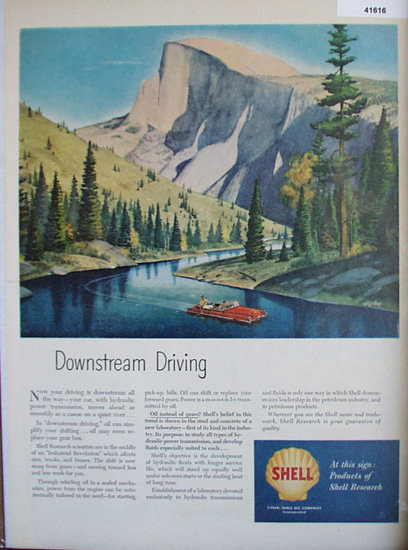 Shell Oil Company 1965 Ad