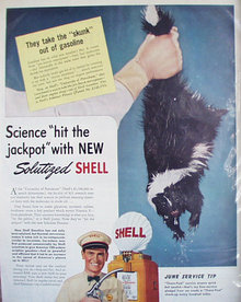 Shell Oil University of Petroleum 1941 Ad