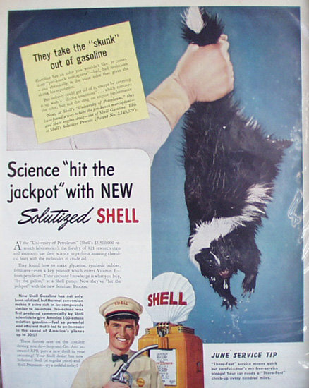 Shell Oil University of Petroleum 1941 Ad