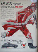 Texaco Quick Response Gasoline 1940 Ad