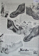 United States Rubber Co. Keds 1937 Ad