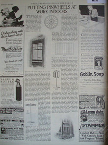 The Companion Shop By Mail 1921 Ad