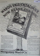 Montgomery Ward Catalog 1927 Ad.