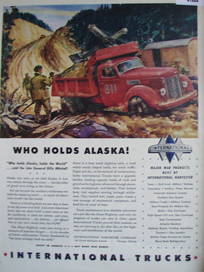 International Trucks 1943 Ad