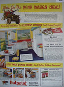 Hotpoint Electric Kitchens 1943 Ad.