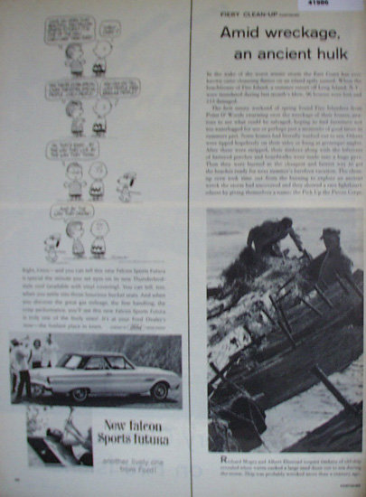 Ford Falcon Sports Futura Car 1962 Ad.