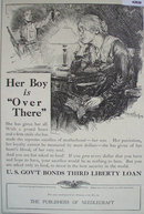 Needlecraft U.S. Govt. Bonds 1918 Ad
