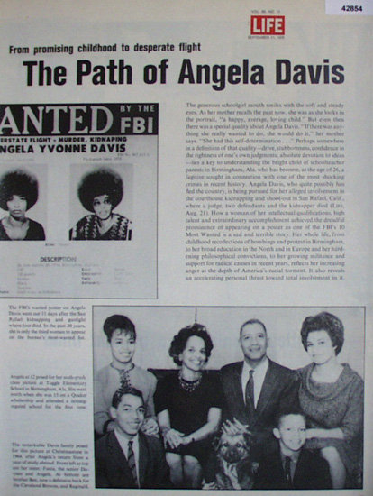 The Path Of Angela Davis 1970 Article
