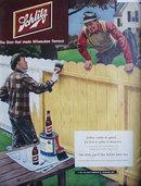 Schlitz Beer 1951 Ad.