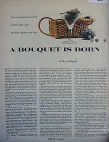 A Bouquet Is Born Wine 1952 Article