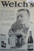 Welch's Grape Juice 1920 Ad.