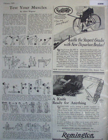 New Departure Bicycle Brakes 1929 Ad.