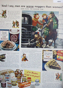 Bordens Products 1949 Ad.