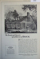 American Face Brick Association 1920 Ad.