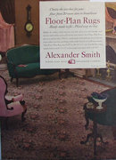 Alexander Smith Broadloom Carpets 1950 Ad