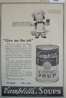 Campbells Vegetable Soup 1920 Ad.