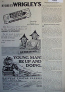 Wrigleys Spearmint Gum 1929 Ad.