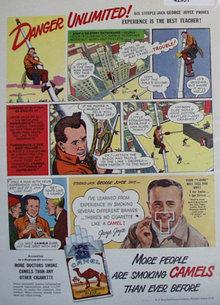 Camels Cigarettes 1948 Ad.