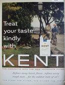 Kent Cigarettes 1963 Ad
