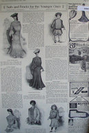 Dresses And Frocks Clothing 1903 Ad.