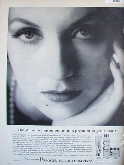 Paradox By Du Barry 1963 Ad