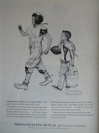 Mass. Mutual Life Insurance Co. 1961 Ad