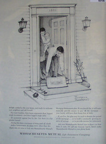 Mass. Mutual Life Insurance Co. 1962 Ad