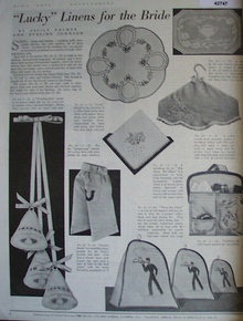 Home Arts Needlecraft 1940 Ad