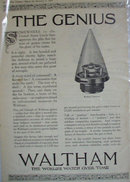 Waltham Watches 1920 Ad