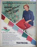 Textron Electric Blanket 1950 Ad
