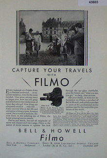 Filmo 70D Movie Camera 1907 To 1912 Ad