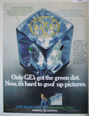 General Electric Flashcubes 1969 Ad