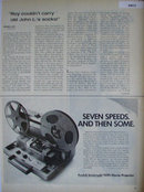 Kodak Instamatic M95 Movie Projector 1968 Ad