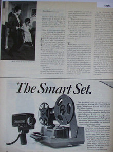 Kodak M9 Movie Camera And M95 Movie Projector 1969 Ad