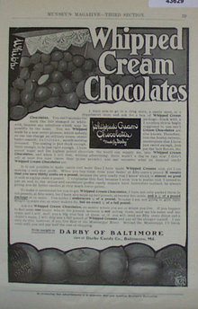 Darby Candy Co. 1907 To 1912 Ad