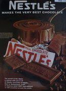Nestles Milk Chocolate 1967 Ad