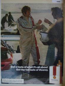 Viceroy Filter Cigarettes 1972 ad