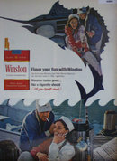 Winston King Size Cigarettes 1967 Ad