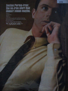 Arrow Decton perma Iron Shirt 1967 Ad