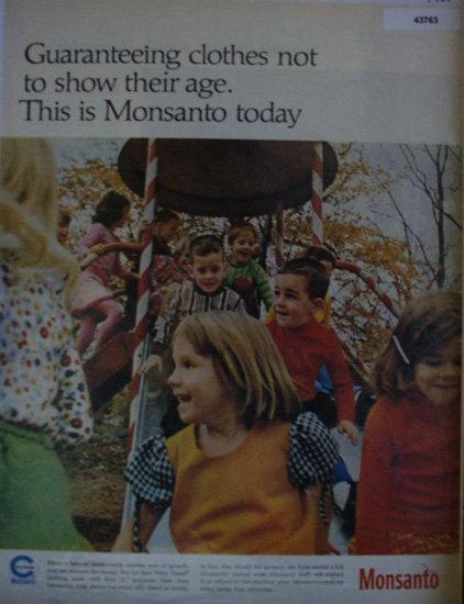 Monsanto Polyester 1967 Ad.