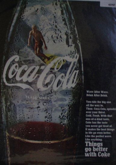 Coca Cola 1968 Ad.