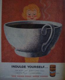 Sanka Aroma Roast Coffee 1960 Ad