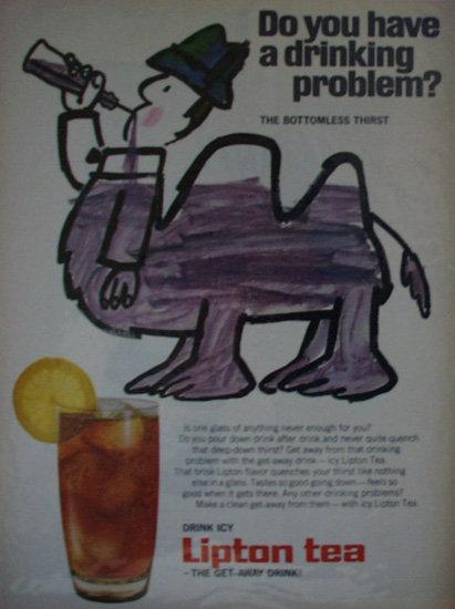 Lipton Tea 1968 Ad.