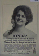 Hinds Lotion For Hands And Face 1907 To 1912 Ad