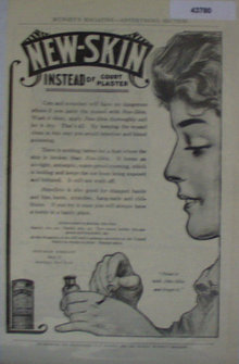 New Skin Co. 1907 To 1912 Ad