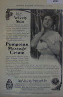 Pompeian Massage Cream 1907 To 1912 Ad.