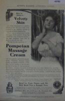 Pompeian Massage Cream 1907 To 1912 Ad.
