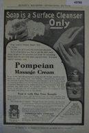 Pompeian Massage Cream 1907 To 1912 Ad